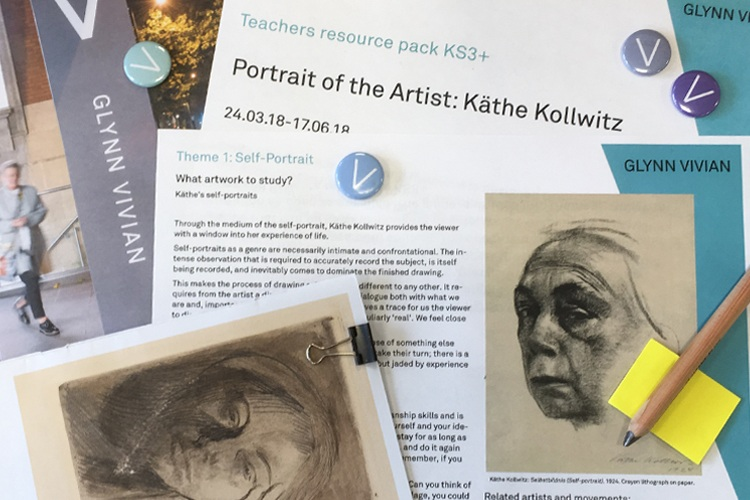 Image of teacher resources produced by the Glynn Vivian Art Gallery
