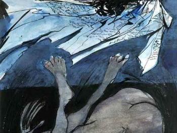 """Do Not Go Gentle Into That Good Night, 1965"" Ceri Richards (1903-1971) Glynn Vivian Art Gallery © Estate of Ceri Richards/ DACS 2008"
