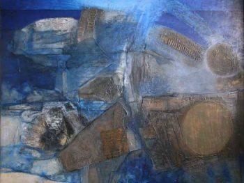 """La Cathédrale engloutie III"" Ceri Richards (1903-1971) Glynn Vivian Art Gallery © Estate of Ceri Richards/ DACS 2008"