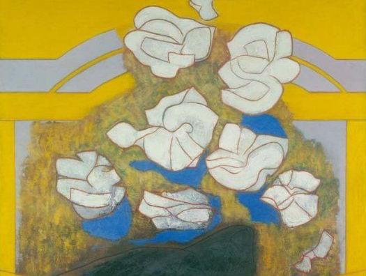 """Music of colours"" 1968, Ceri Richards, Glynn Vivian Art Gallery"