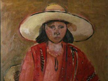 """A Portrait of the Artist's Wife, 1932"" Ceri Richards (1903-1971) Glynn Vivian Art Gallery"