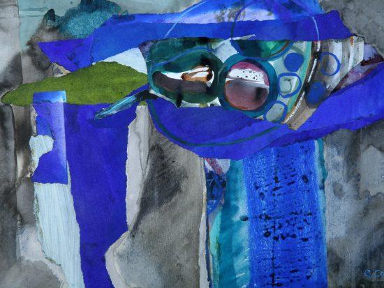 Lliw Dweud Glenys Cour: Artist a'i byd