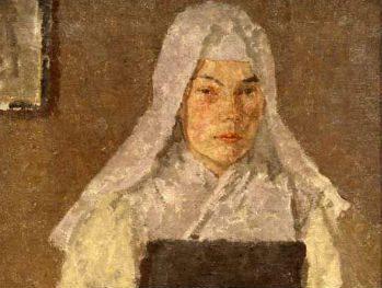 """""""The Nun, c.1910s"""" Gwen John (1876-1939) Glynn Vivian Art Gallery © Estate of Gwen John / DACS 2008"""