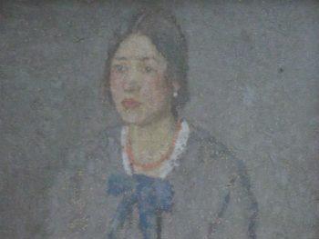 """Woman with a Coral Necklace, late 1910's – early 1920's"" Gwen John (1876-1939) Glynn Vivian Art Gallery © Estate of Gwen John/ DACS 2008"