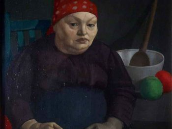 """""""Portrait of the Artist's Mother, 1913"""" Mark Gertler (1891-1939) Glynn Vivian Art Gallery"""
