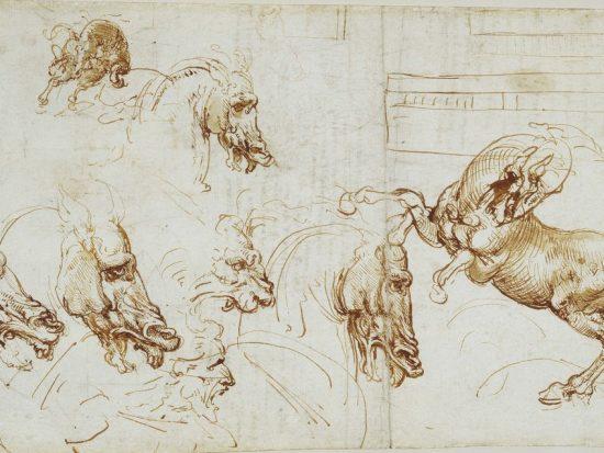 Leonardo da Vinci: Deg Llun o'r Casgliad Brenhinol