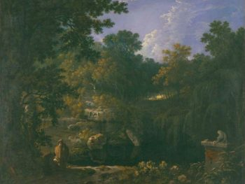"""Solitude"" Richard Wilson (1713/14 – 1782) Glynn Vivian Art Gallery"