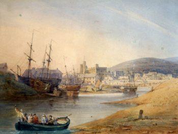 """Swansea"" Samuel Austin (1796-1834) Glynn Vivian Art Gallery"