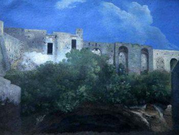"""Ruined Buildings Naples"" Thomas Jones (1742-1803) Glynn Vivian Art Gallery"