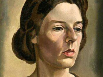 """Head of a Woman, Miss Jane Tupper-Carey, 1924"" William Roberts (1895-1980) Glynn Vivian Art Gallery"